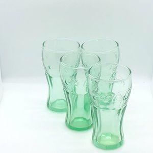 Mini Coca-Cola shot glasses